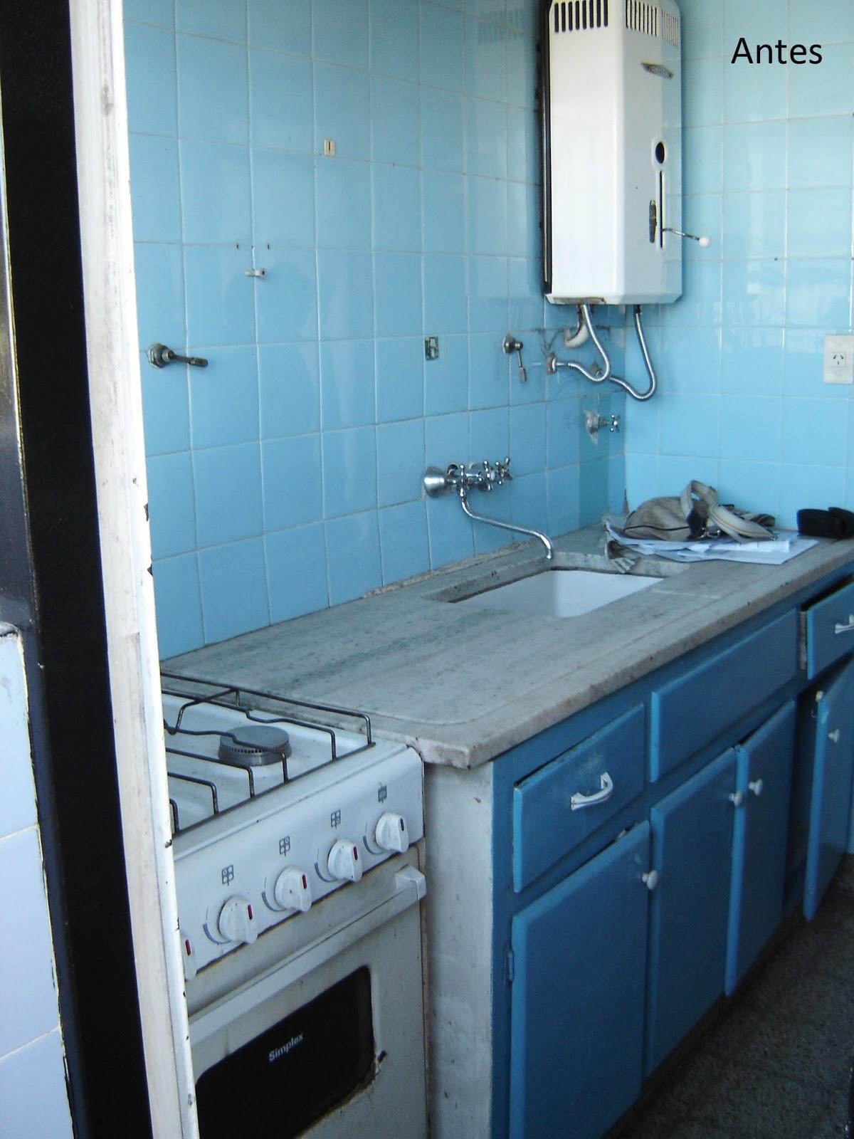 Remodelaciones cocina y lavadero artigas remodelaciones for Remodelacion de cocinas pequenas