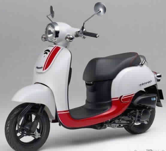 Ini Penampakan New Honda Giorno Skuter Matic Yang Irit Bensin