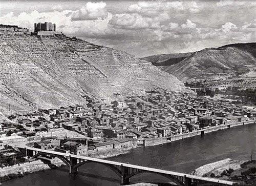 El poble de Mequinensa abans