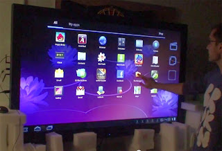 World's biggest Android Tablet with 65-inch Screen