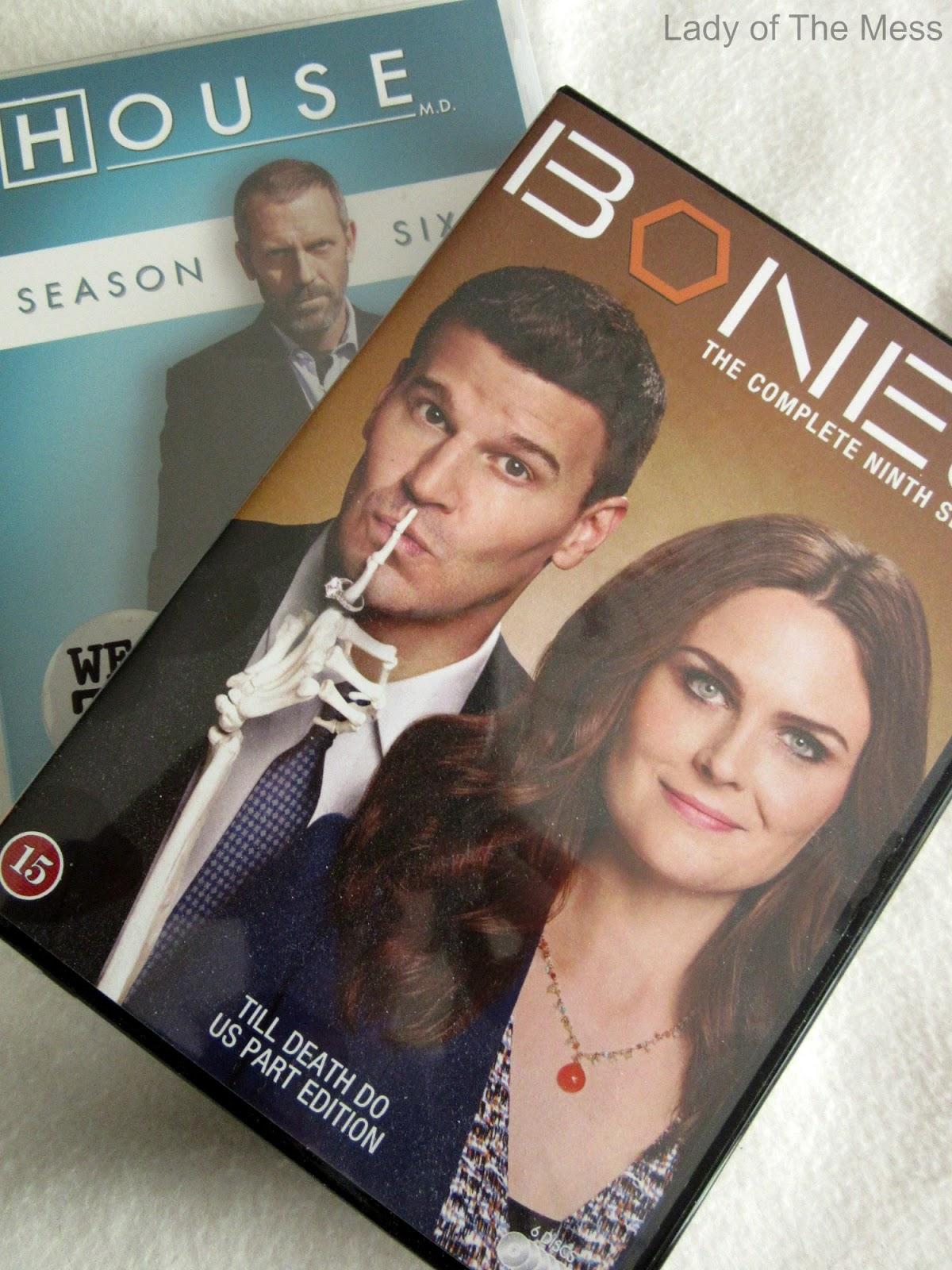 telkkarisarja, Bones, House