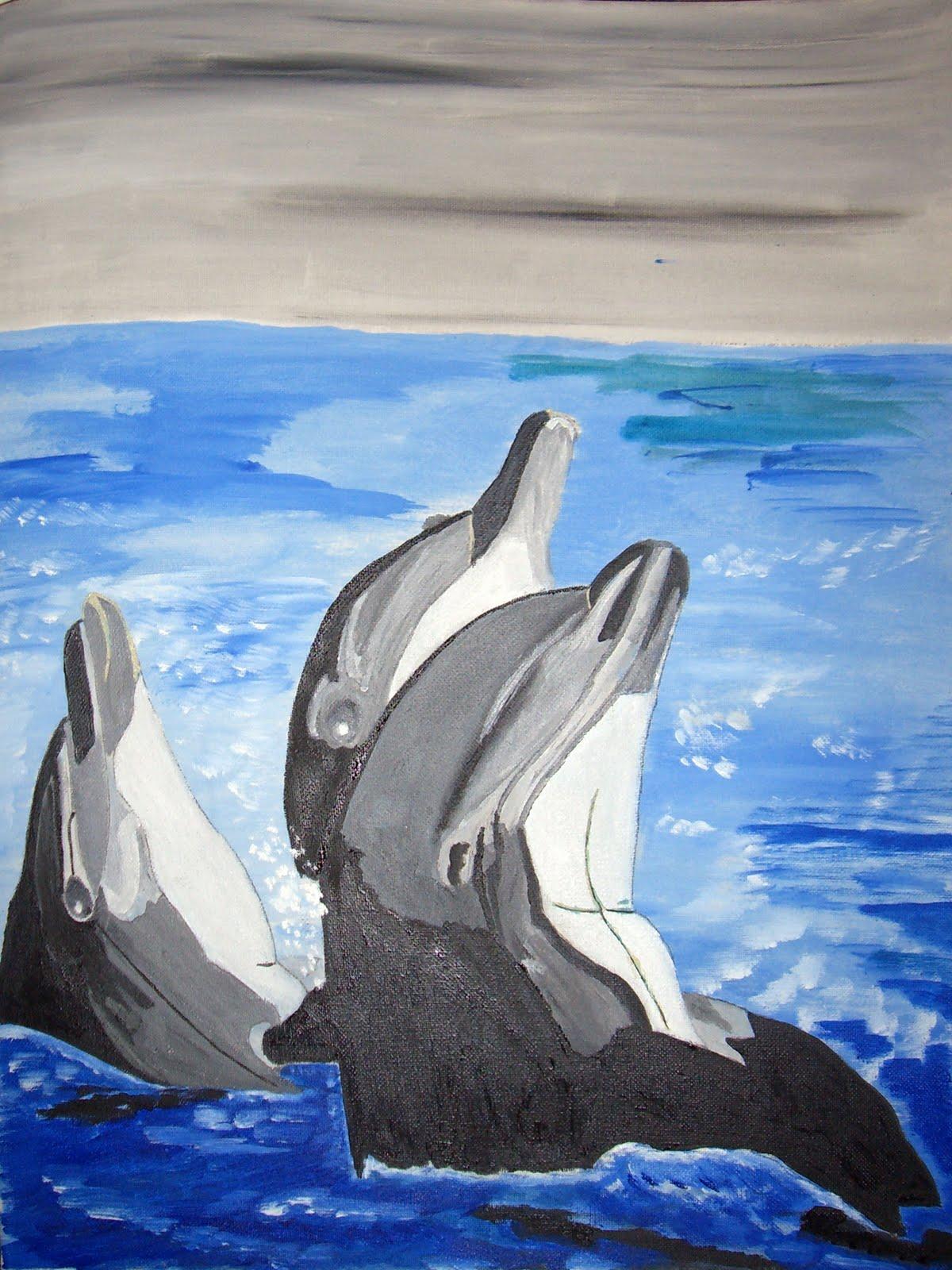 CUADROS DE JUAN: Delfines, 2010