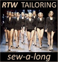 RTW Tailoring Sewalong