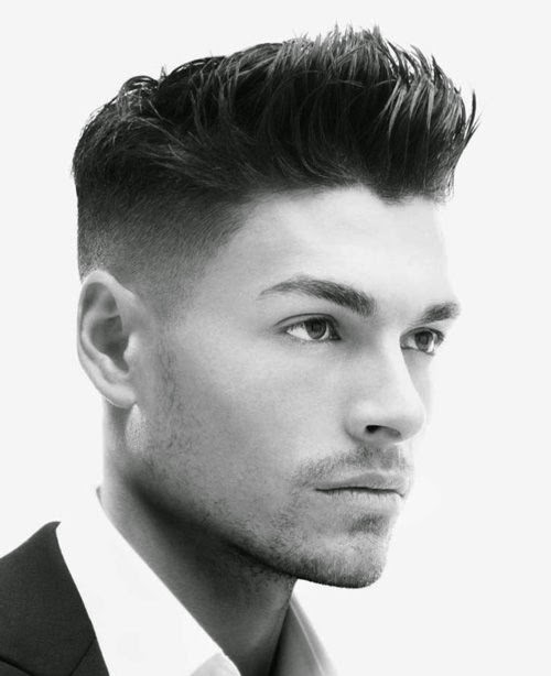 men hot hairstyle