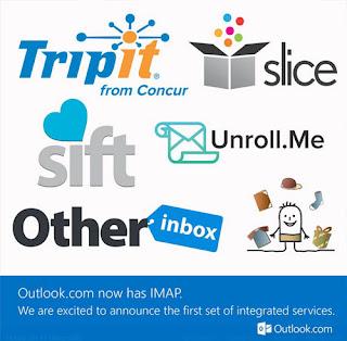 outlook.com ahora con IMAP