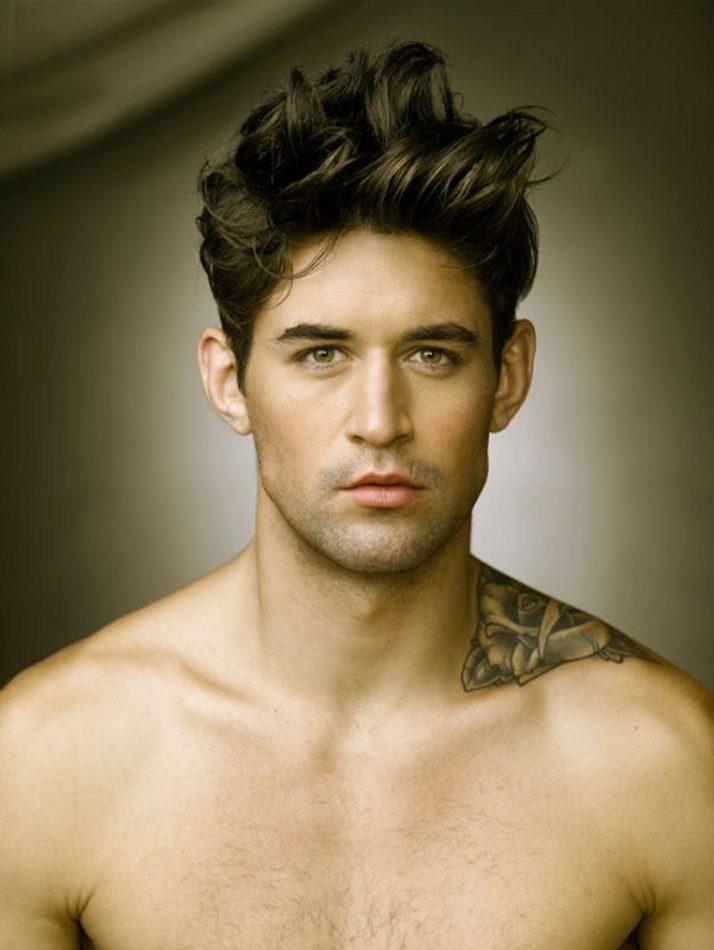 Model: Benjamin Godfre - Blakemag   Visages masculins