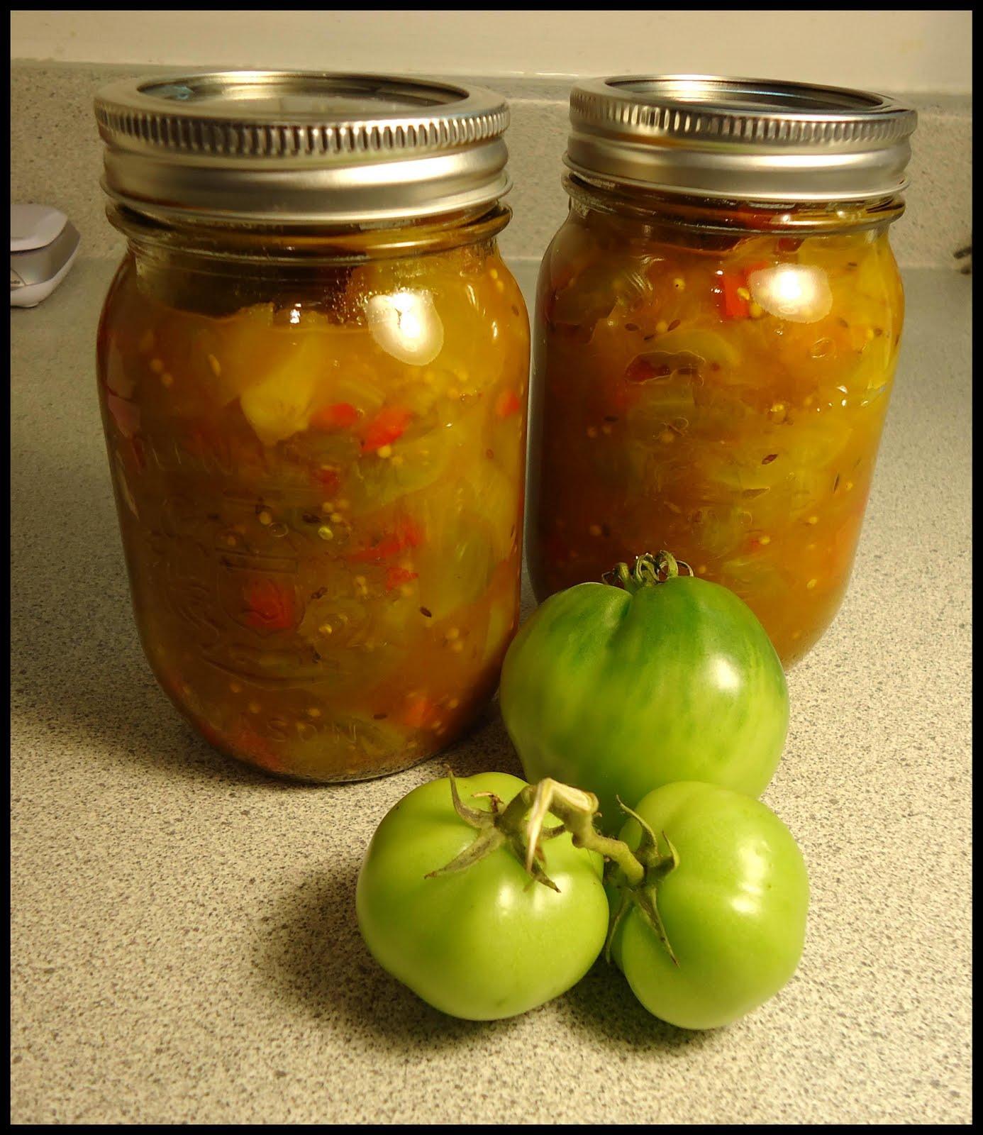 Ketchup aux tomates vertes blogs de cuisine - Cuisiner des tomates vertes ...