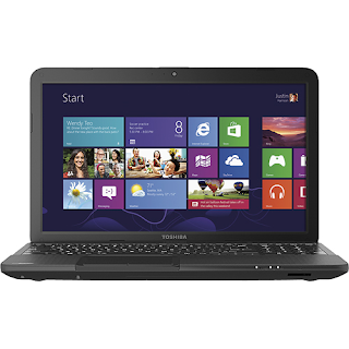 "Toshiba C855D-S5307 - Satellite 15.6"" Laptop - 4GB Memory - 500GB Hard Drive - Satin Black"