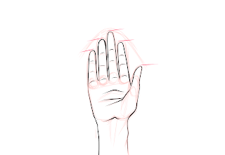 Drawing Hands Step 8