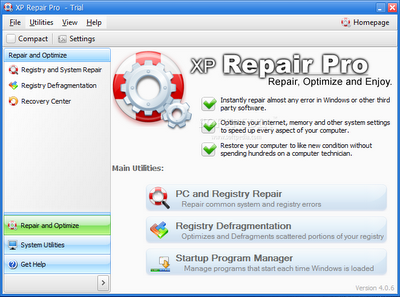 Download XP Repair Pro | windows xp repair software