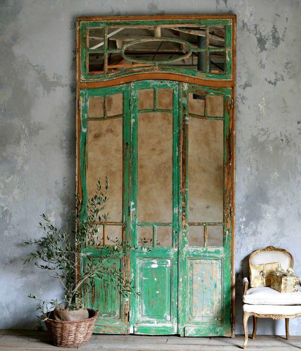 Decorar con puertas antiguas vintage home style - Compro puertas antiguas ...