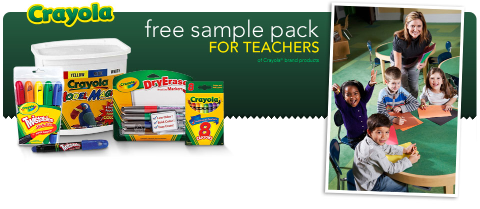 Free Crayola Sample Pack From And Discount Office Items