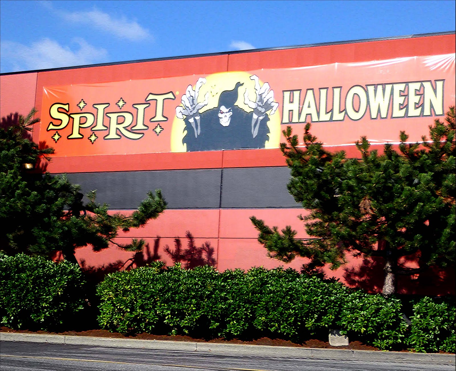 a company called spirit halloween that i visited with my husband recently set up shop in langley bc selling costumes and images of torture - Spirit Halloween Vancouver