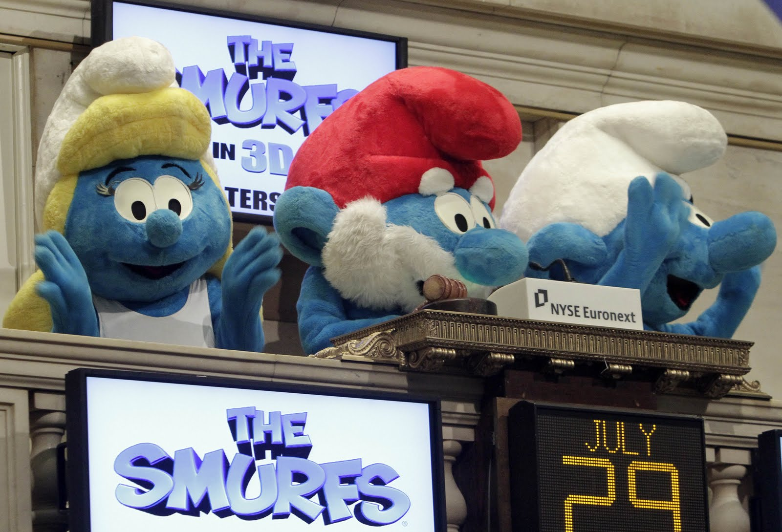 Smurfs on Wall Street