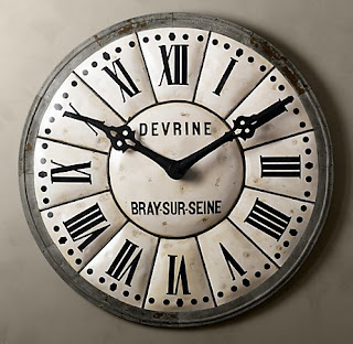 Camelot Art Creations Clock Knock Off