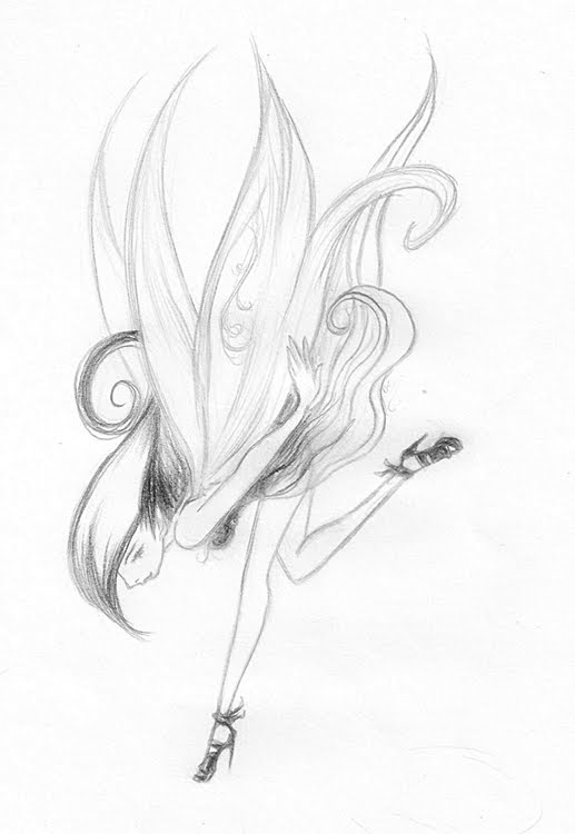 Gallery For gt Drawings Of Fairies In Love