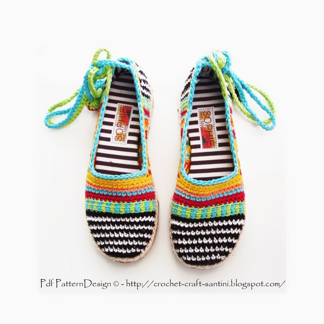 Crochet Shoes : Sophie and Me: HAPPY SCRAP CROCHET SHOES!