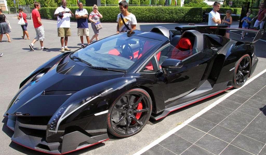 2015 Lamborghini Veneno Roadster Interior