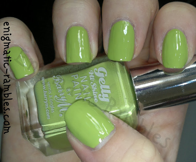 swatch-swatches-barry-m-key-lime-hi-shine-gelly-nail-paint-varnish-polish-enigmatic-rambles