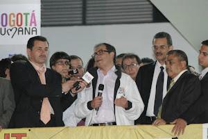 El gobierno nacional le dio golpe de Estado al gobierno distrital de Bogotá