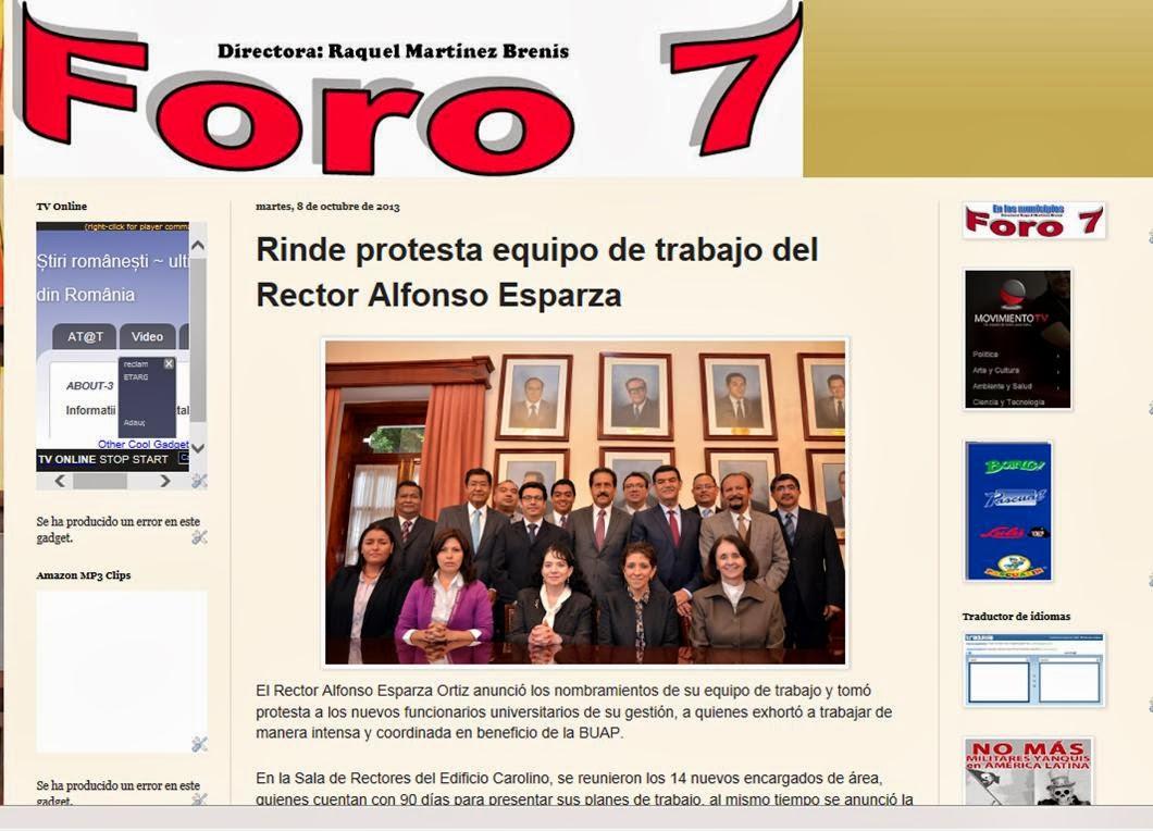 Foro 7 de Puebla