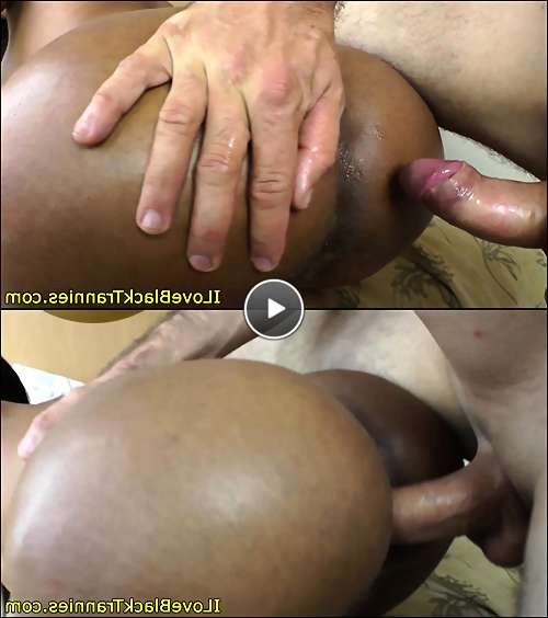 black trannies cum video
