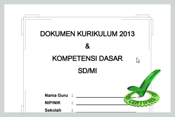 PERANGKAT PEMBELAJARAN KURIKULUM 2013 SD KELAS 3 TERBARU