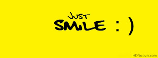 Just Smile Image For Facebook Cover