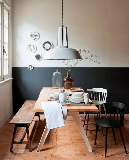 parede cinza na cozinha