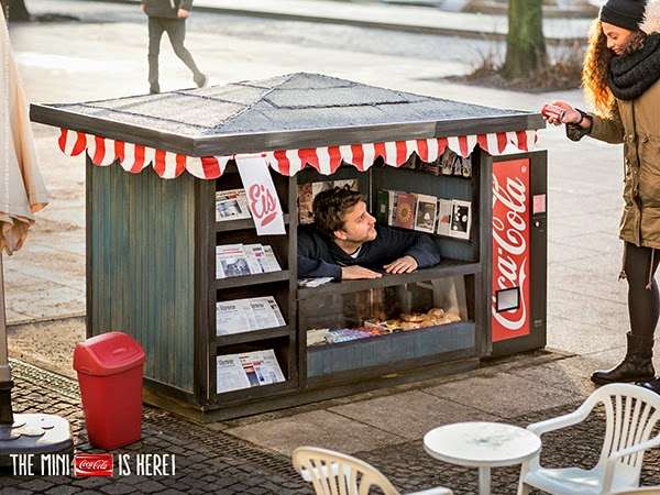 Coca Cola: The Mini is here