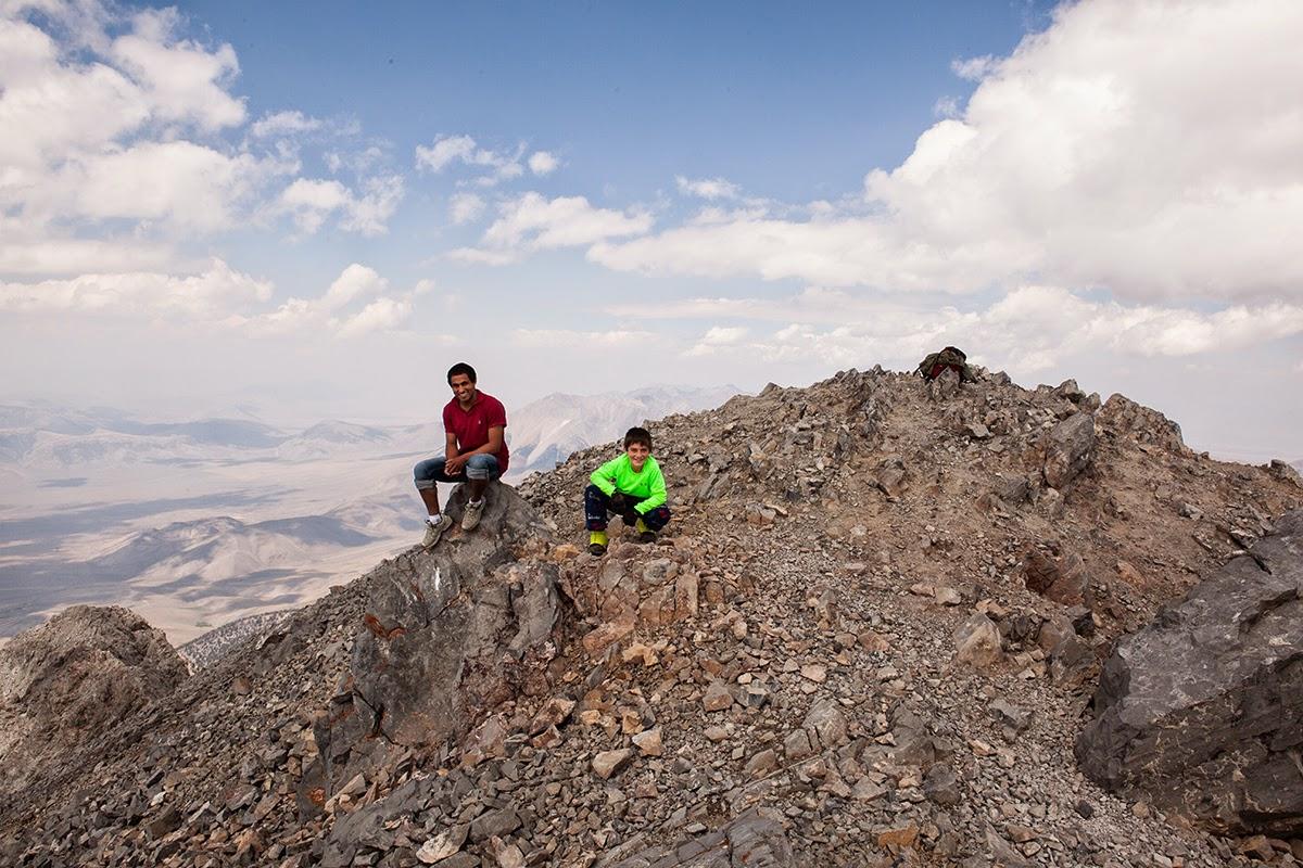 climbing mount norah