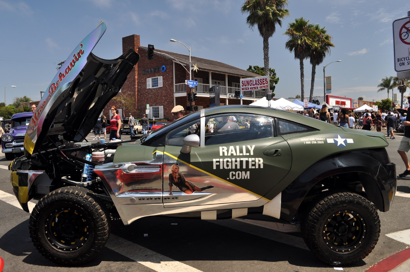 Just A Car Guy There Was A Local Motors Rally Fighter At