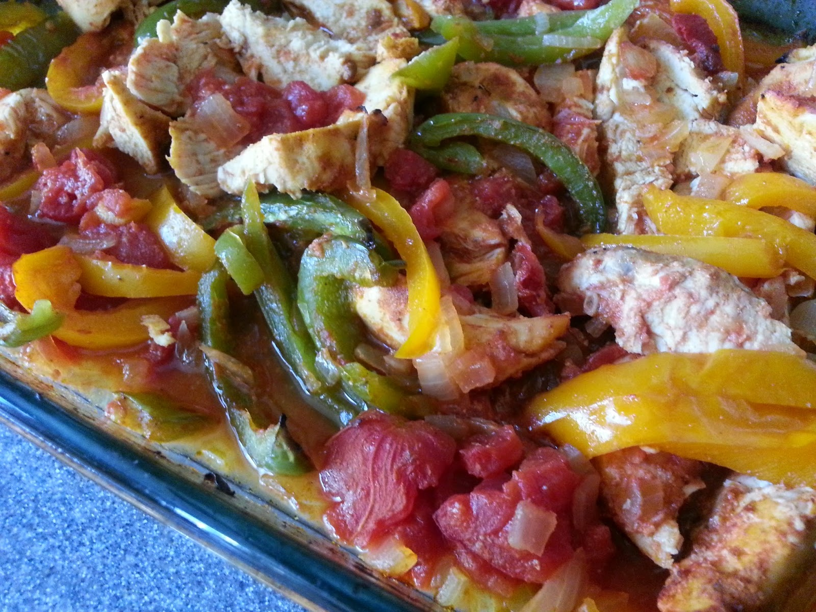 easy baked chicken fajitas dairy free