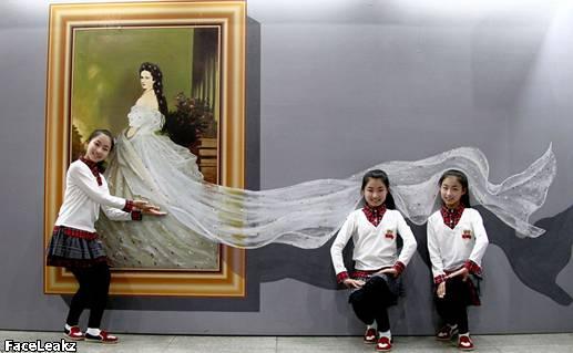 Lukisan Hidup 4 Dimensi Yang Keren - FaceLeakz