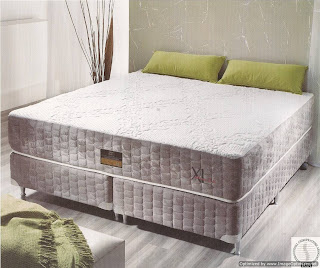 Cama XL Látex King Koil