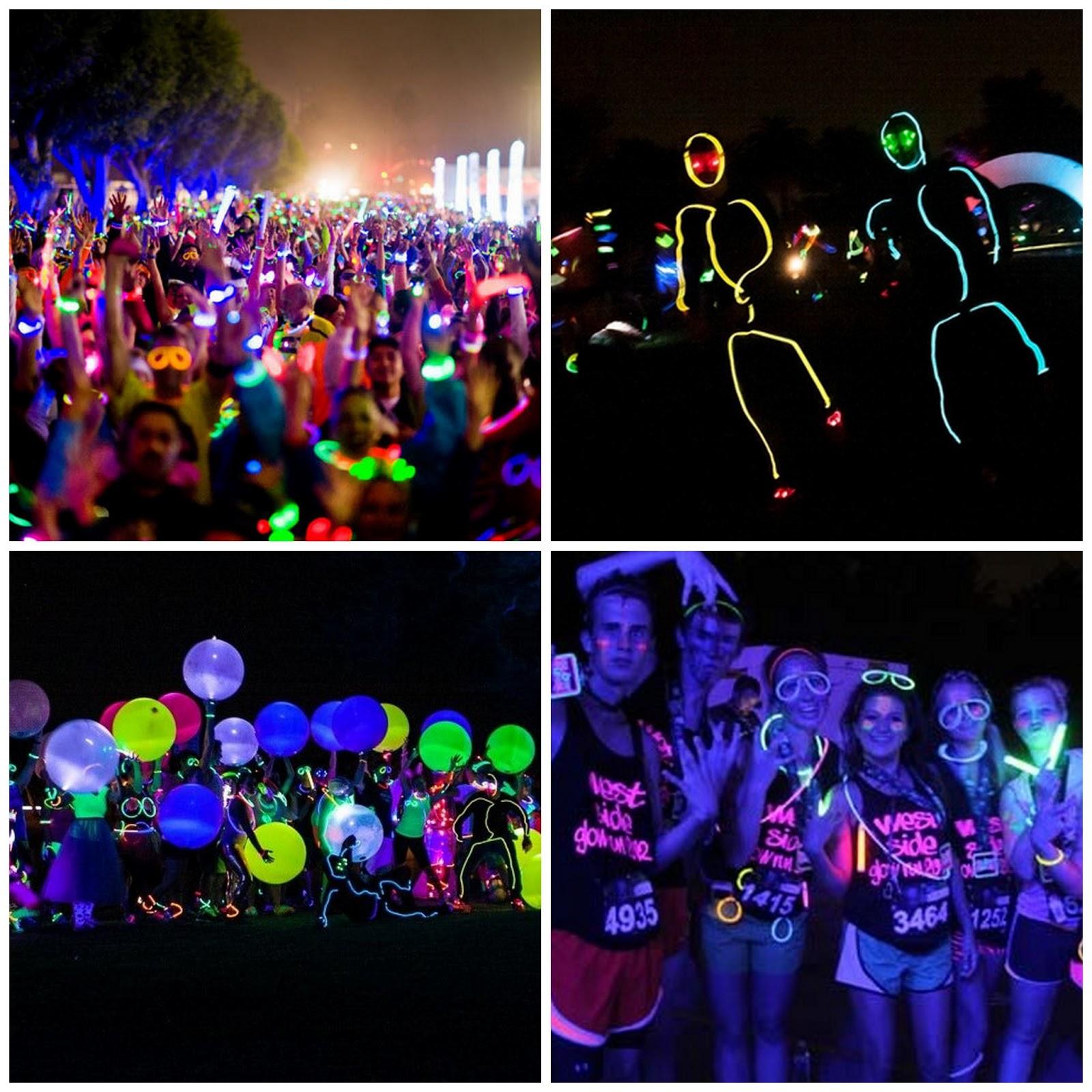 Glow Neon Fun Run Electric Run Glow Run Neon