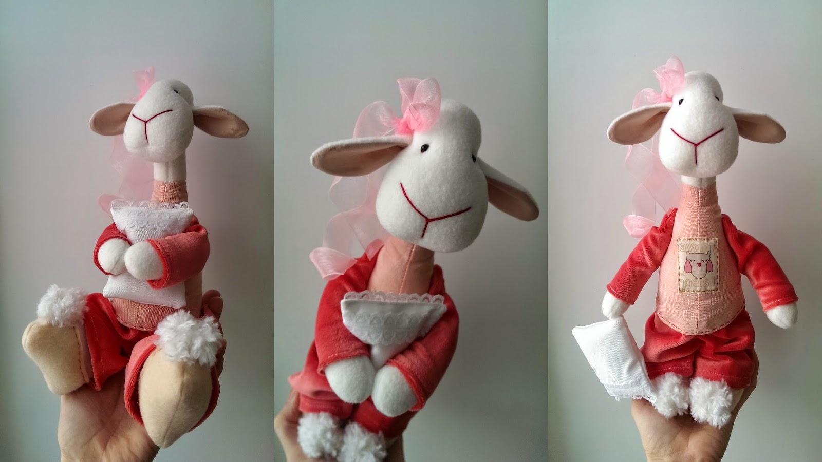 игрушка овечка