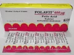 Dosis Obat FOLAVIT (Folic Acid / Asam Folat)