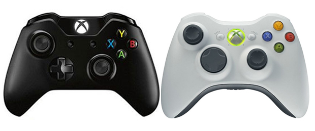 Xbox One Vs Xbox 360 Controller Comparison + PS3 Vs PS4 Controller Comparison