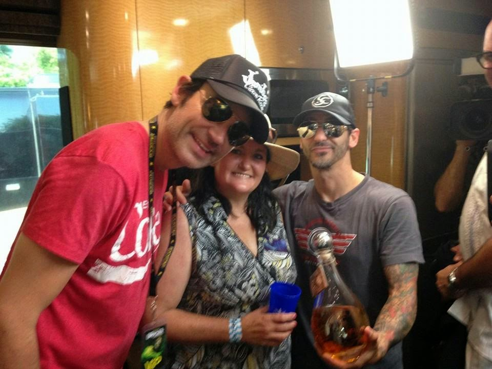 Me with Sully Erna of Godsmack & Whitney Suldan-Smith of Southern Charm