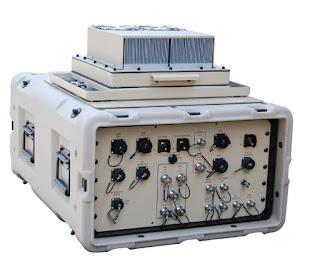 Автономный, защищенный корпус модема L-диапазона для внутреннего и наружного применения