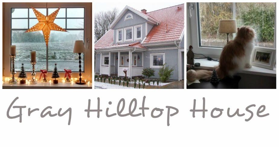 Gray Hilltop House