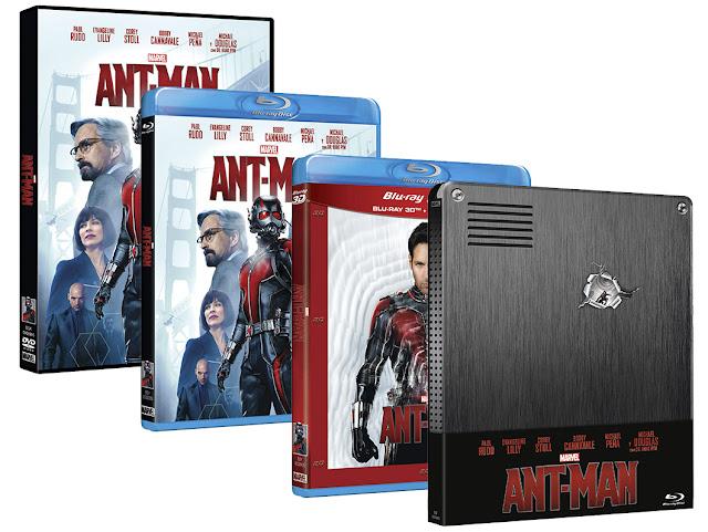A la venta 'Ant-Man' en DVD, Blu-ray, Blu-ray 3D Combo y Edición Caja Metálica