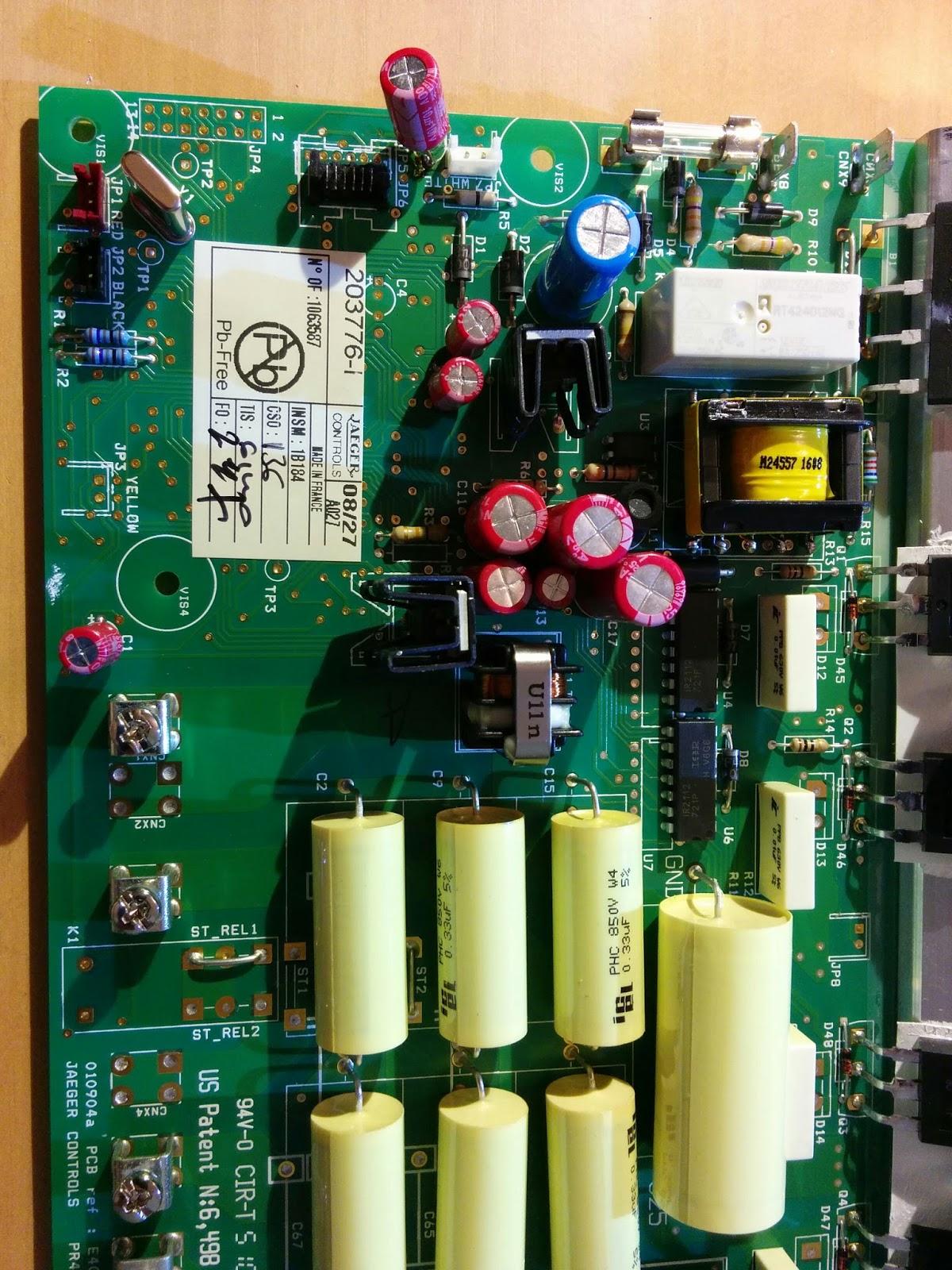 Zapan 39 s den r paration table induction ariston - Code erreur c11 ...