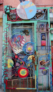 Fusion Art's Doorway in New York's lower east side.