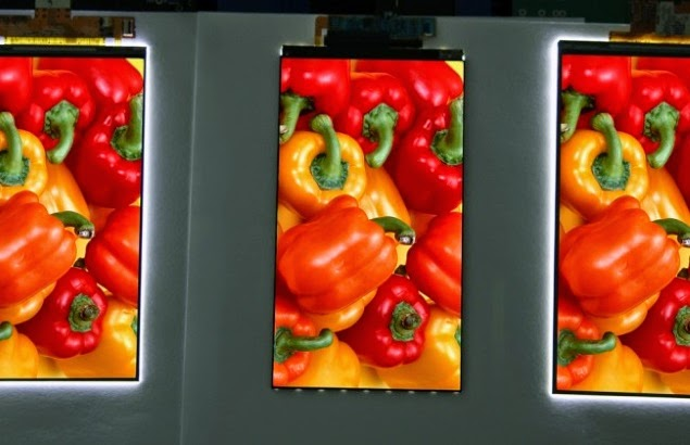 LG Unveils 5.3-Inch Smartphone Display With 'World's Narrowest Bezel