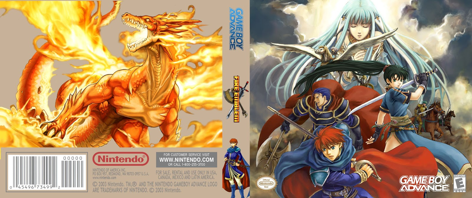 Capa Fire Emblem Gameboy Advance