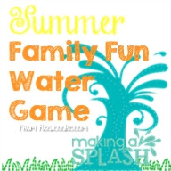 This looks like great summer family fun! Easy to put together a fun afternoon game with the family. #FamilyFun#Games #Summer #RealCoake