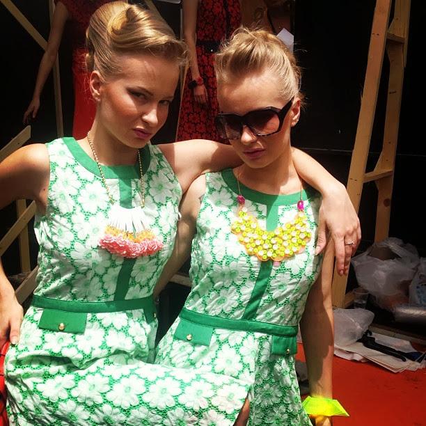 Sonya Bronia twins israeli super model fashion tel-aviv