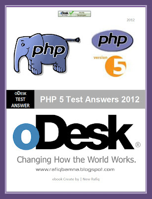 PHP5 Test Answers ebook